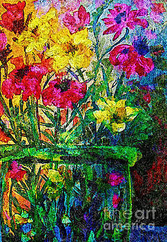 Enhanced Floral  by Emily Michaud