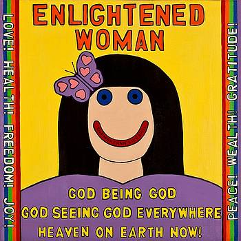 Enlightened Woman by MaryAnn Kikerpill