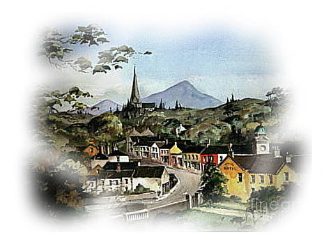 Enniskerry Panorama by Val Byrne