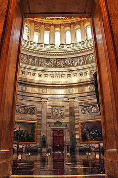 Enter the Rotunda by Mitch Cat