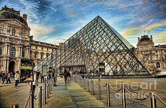 Chuck Kuhn - Entrance Louvre