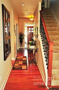 Entry-Hallway-Second Story Stairs by Tonia Noelle