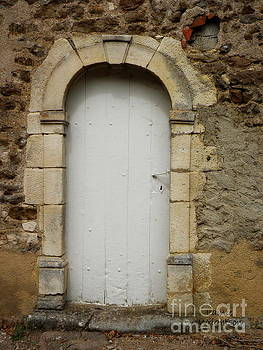 Epoisses Door With Heart by Lainie Wrightson