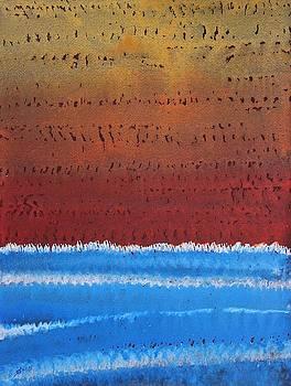 Equatorial original painting by Sol Luckman