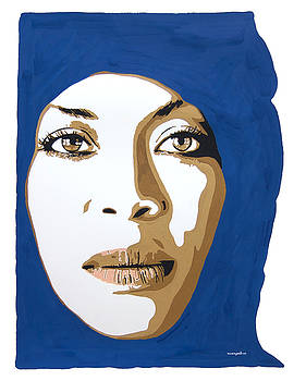 Erykah Badu. Mama's Gun. by Nancy Mergybrower