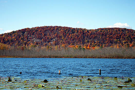 Esopus Lake in Autumn by Jeff Severson