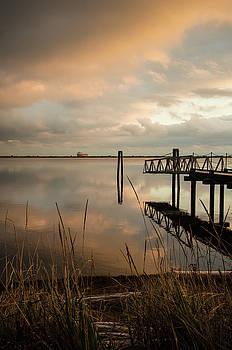 Lagoon Sunset by Marilyn Wilson