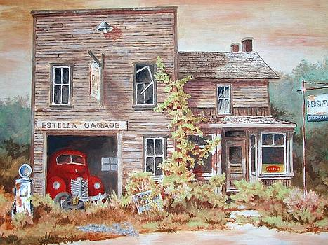 Estella Garage by Tony Caviston