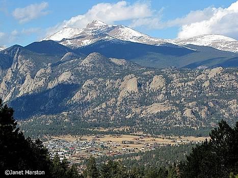 Estes Park Colorado by Janet Marston