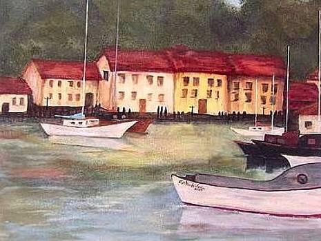 Euro Seaside I by Cindy Watson