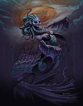 Europa Mermaid by Stanley Morrison