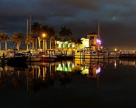 Evening at the Marina by Kimberly Camacho