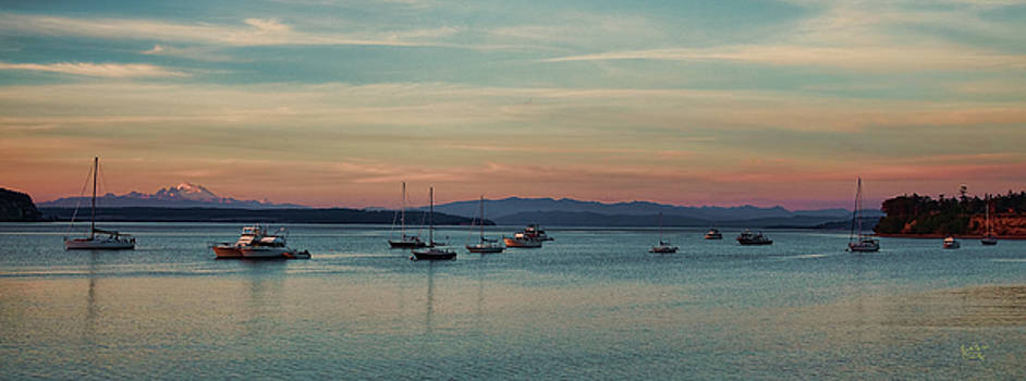Evening Boats by Rick Lawler