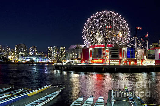 Evening by Science World Vancouver by Maria Janicki
