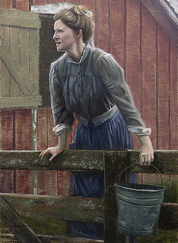 Evening chores by Michael Wilson