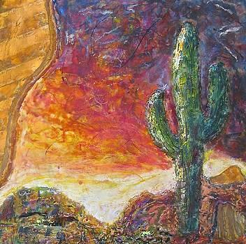 Evening Glow Two by Joe Bourne
