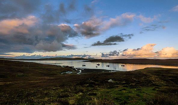 Evening Light in the Shetland Isles by Lynn Bolt