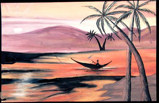 Evening by Sonam Shine