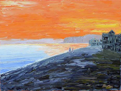 Evening Walk by Burton Hanna
