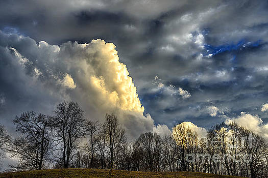 Evevning Storm Clouds by Thomas R Fletcher