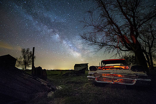 Evil Dead Milky Way  by Aaron J Groen