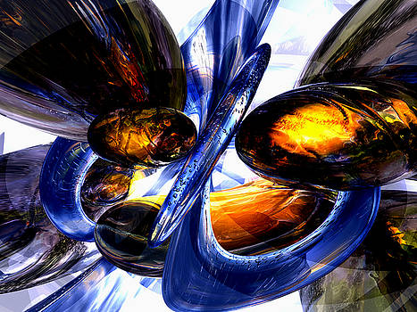 Alexander Butler - Exalted Glow Abstract