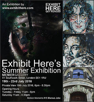 Exhibit Here Summer Edition 2016 by Christel Roelandt