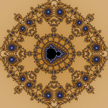 Exiled Mandelbrot No. 65 by Mark Eggleston