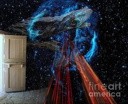 Exit door by Robert Jensen
