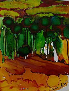 Exotic Landscape # 74 by Sima Amid Wewetzer