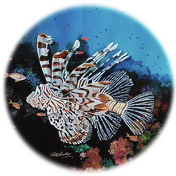 Exotic Lionfish II by Bill Dunkley
