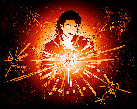 Energy Force of Michael Jackson by Adz Akin
