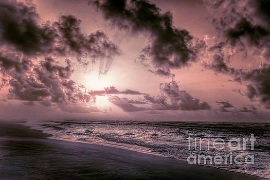 Dan Carmichael - Explosive Sunrise on Ocracoke Outer Banks