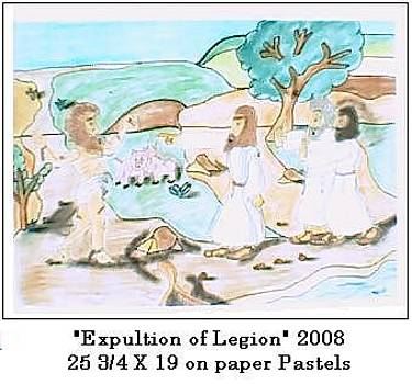 Explution of Legion by Michael Jenkins