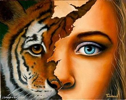 Eye of the Tiger by Jim Warren