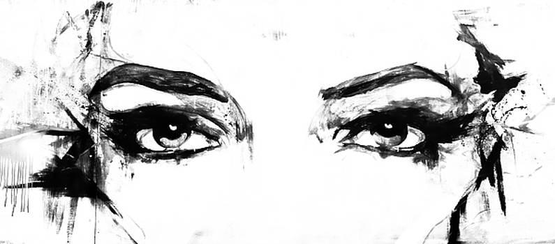 Eyes in black and white by Paul Jarrett