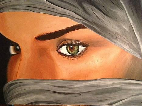 Eyes of despair by Michael McKenzie