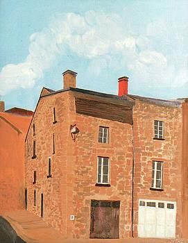 Eymoutieres House by Jeni Bate