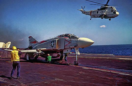 Dale Jackson - F-4J launch