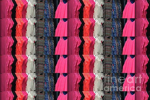 Fabric Texture Fashion Clothing colorful pattern christmas holidays festivals tshirts pillows bags by Navin Joshi