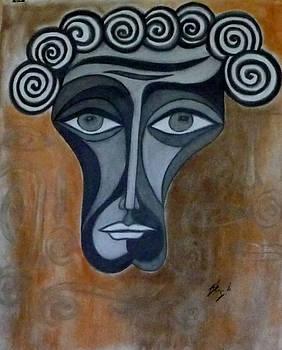 Face 2 by Sarojit Mazumdar