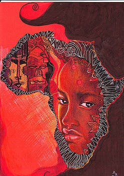 Face of Africa by Bernadett Bagyinka