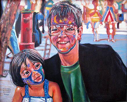 Face-Painter by Michael Gaudet