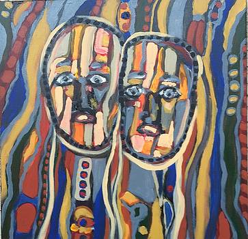 Faces # 18 by Jeffrey Davies