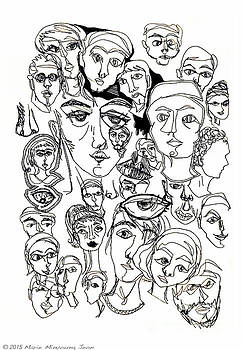 Faces One by Marie Jeon