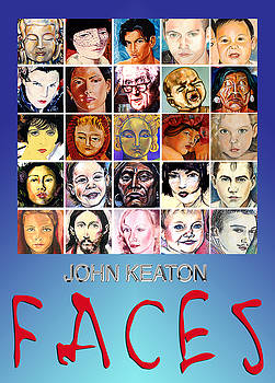 Faces Poster by John Keaton