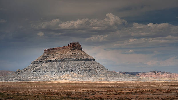 Factory Butte by Dan Mihai