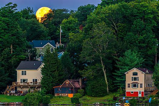 Fading Moon by Mark Cranston
