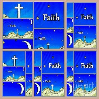 Faith 6 by Ann Calvo