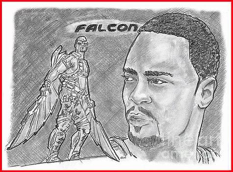 Falcon by Chris DelVecchio